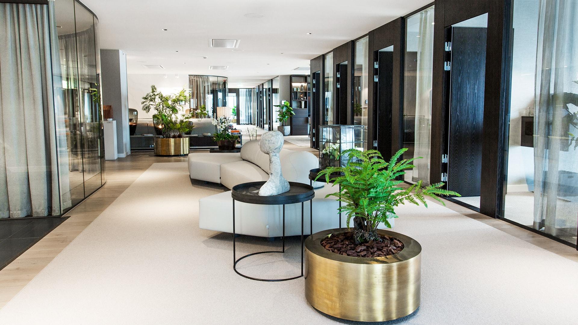 Inredning av lounge av Joy of Plenty hos Järngrinden
