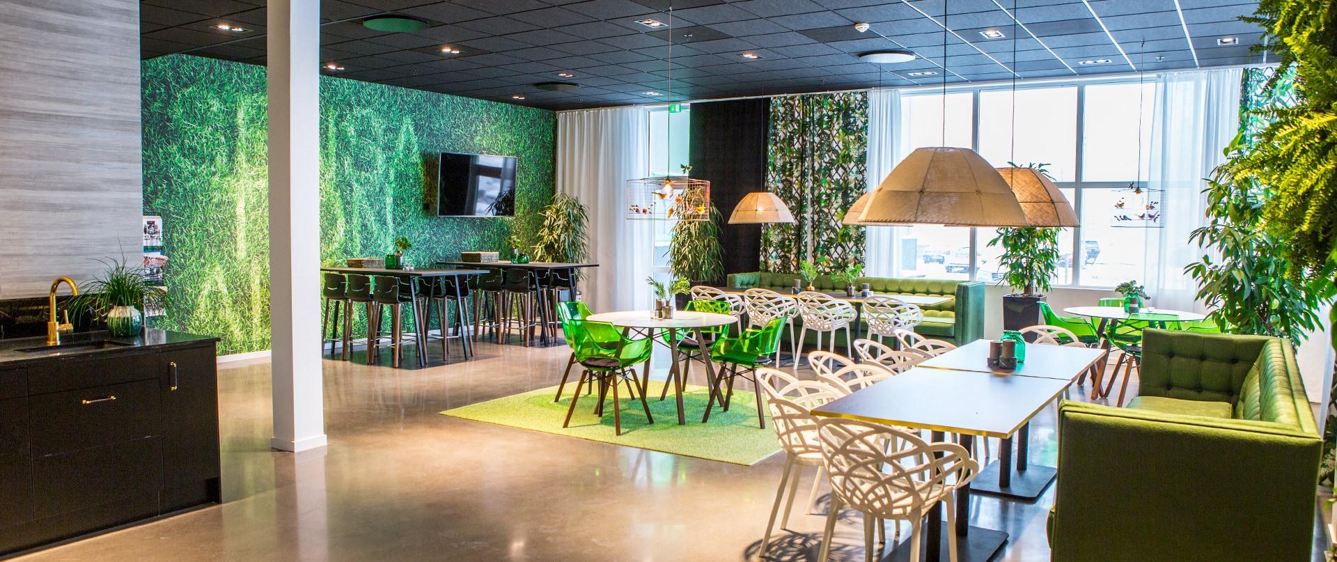 Kök och matplats hos Brunngård Group